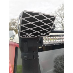 D44 Stainless Safari Snorkel Grille