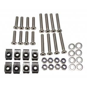 Britpart Stainless Steel Defender Front Door Bolt Kit 90
