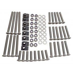 Britpart Stainless Steel Defender Front & Rear Door Bolt Kit 110