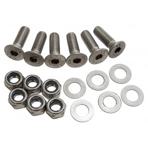 Britpart Stainless Steel Defender Bonnet Hinge Bolt Kit