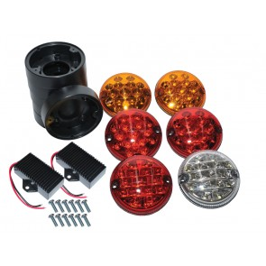 Wipac LED Rear NAS Light Upgrade Kit