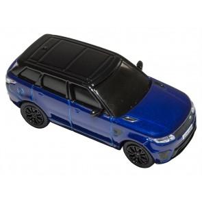 Die-cast 1:76 Range Rover Sport SVR Estoril Blue