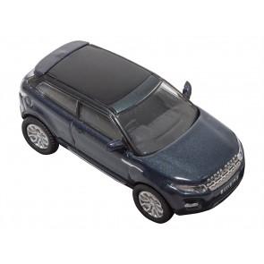Die-cast Land Rover Range Rover Evoque Baltic Blue