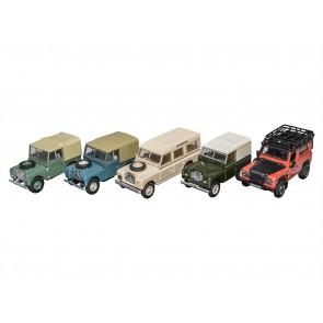 Die-cast Land Rover Defender 2007