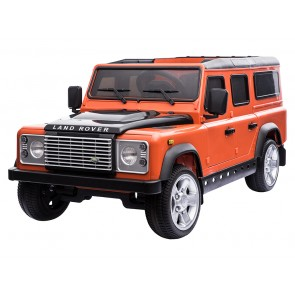 A Ride On Defender 12V Plastic Finish - Orange
