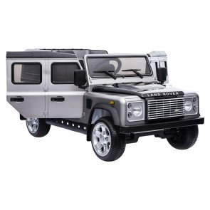 A Ride On Defender 12V Painted Finish - Silver