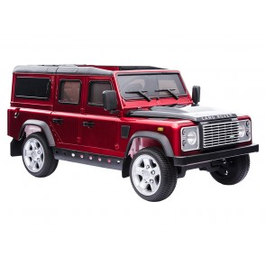 A Ride On Defender 12V Painted Finish - Red