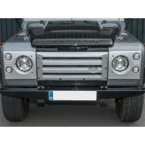 Britpart Defender Grille XS Set  - Silver With Black Mesh