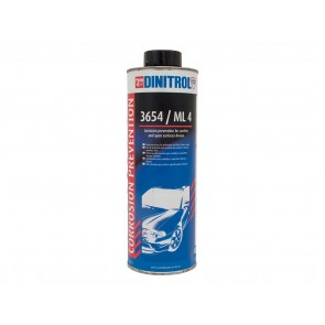 Dinitrol 3654 / ML 4 Cavity Corrosion Prevention 1 Litre Brown