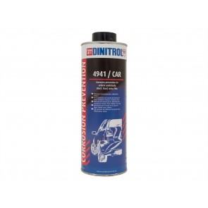 Dinitrol 4941 Corrosion Prevention 1 Litre Aerosol Black