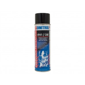 Dinitrol 4941 Corrosion Prevention 500ml  Aerosol Black