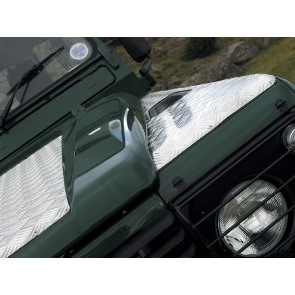 Britpart Defender Chequer Plate Bonnet All to 2006 - Plain