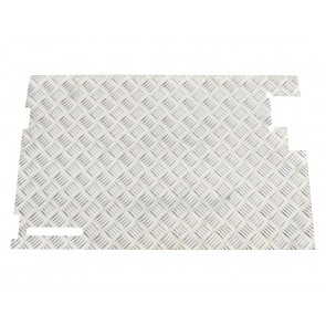 Britpart Defender & Series Tailgate Chequer Plate - Without Wiper