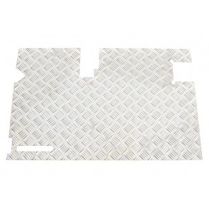 Britpart Defender Tailgate Chequer Plate - With Wiper to 02
