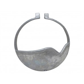 Britpart Clamp On Diff Guard for Rover Axle Galvanised