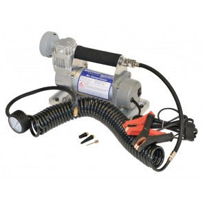 Britpart Single  Pump Compressor 12v Portable