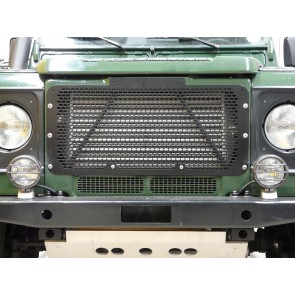 Britpart Defender Grille - Black Stainless Steel
