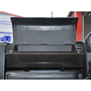 Britpart Defender Tdci Glove Box Conversion - Carbon Effect