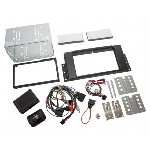 Double DIN Radio Install Kit Range Rover Sport 2005 - 2013 Amplified