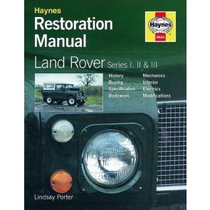 Haynes Restoration Manual Series 1, 2, 2a & 3