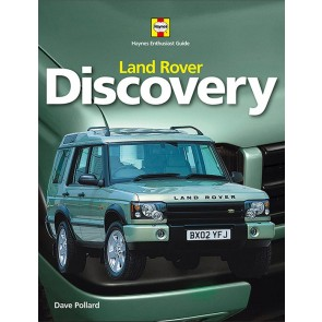 Land Rover Discovery Enthusiast Guide - Show room display stock - clearance