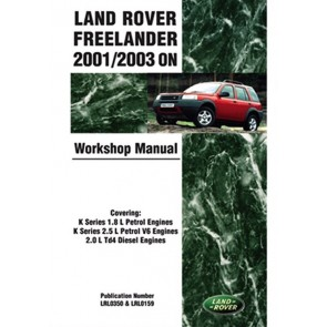 Freelander 1 Work Shop Manual