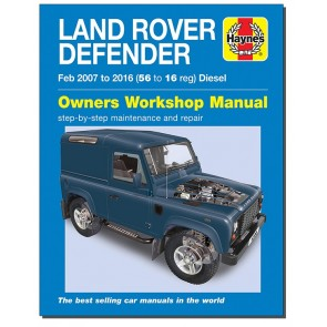 Haynes Land Rover Defender Tdci 06 - 16 Workshop Manual