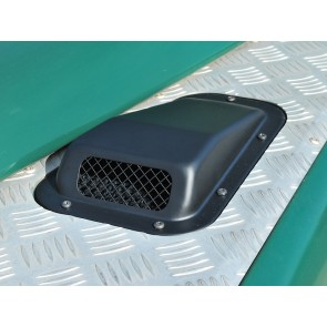 Defender Air Intake With Grille - Left
