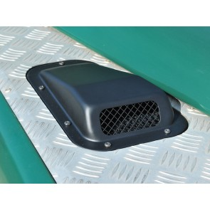 Defender Air Intake With Grille - Right