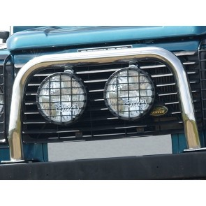"Britpart 8"" Driving / Spot Lights 100w Chrome"