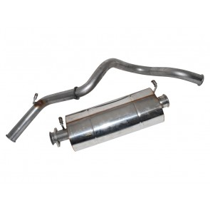 Exhaust 90 Defender 300 Tdi 97 Onwards