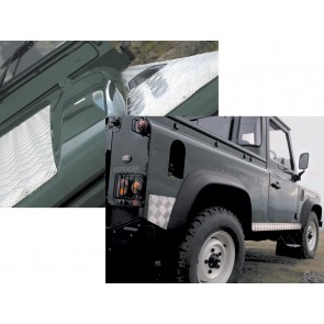 Britpart Defender Chequer Plate Kit For 90