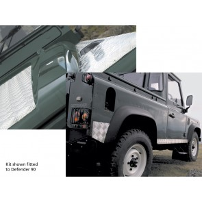 Britpart Defender Chequer Plate Kit For 110