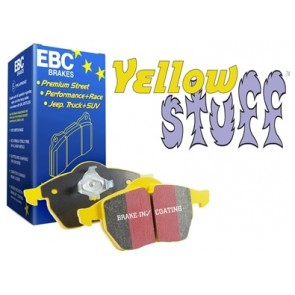 EBC Yellow Stuff Brake Pads suits Defender 90 - from 1991 and Defender 110 - from 1986