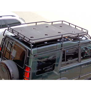 Safety Devices Discovery 2 Highlander Roof Rack Marine Ply Floor