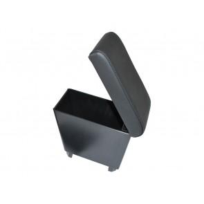 Freelander 2 Cubby Box - Black Eco Leather