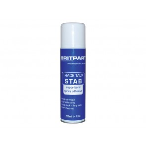 Britpart Super Bond Spray Adhesive 250Ml Aerosol