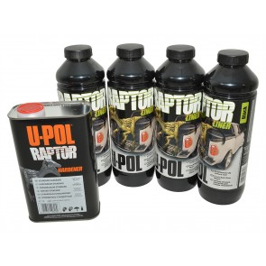 Raptor 4 Litre Kit - Black Finish