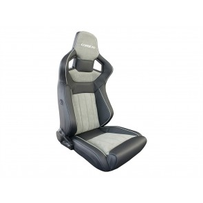 Corbeau Sportline RRS Low Base Defender Seats - Leather & Alcantara