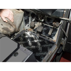 Dynamat Sound Deadening Footwells Defender - 2007 onwards