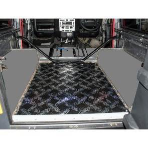 Dynamat Sound Deadening Rear Tub Floor Defender 90 - 1983 to 2007 onwards