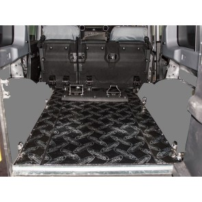 Dynamat Sound Deadening Rear Floor  Defender 110 - 2007 onwards Station Wagon / Utility