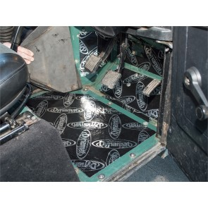 Dynamat Sound Deadening Footwells Defender - 1983 - 2006