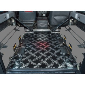 Dynamat Sound Deadening Rear Tub Floor Defender 90 2007 On