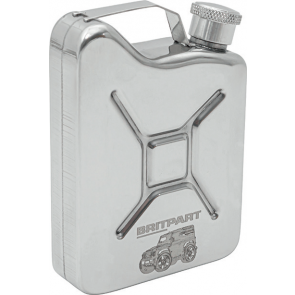 Britpart Jerry Can Hip Flask - 142ML Capacity