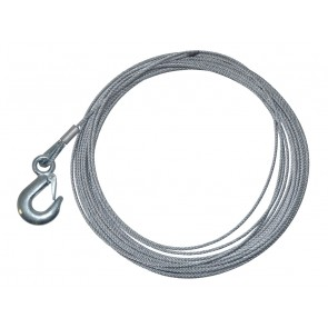 """Wire Rope 0.16"""" x 50'  /  4mm x 15.2m for Britpart DB2000"""