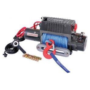 Britpart 9500i 12V Winch - Synthetic