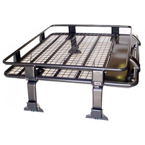 ARB Deluxe Steel Roof Rack with Mesh Floor 1120x1120mm