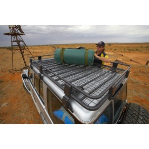 ARB Deluxe Alloy Roof Rack With Mesh 2200X1250mm