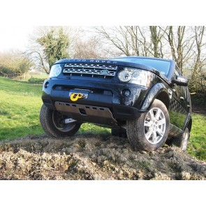 D44 Discovery 4 Winch Mount & Warn Tabor 10 Winch